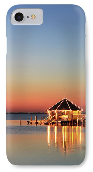 The Sunset Grill IPhone Case by Lori Deiter
