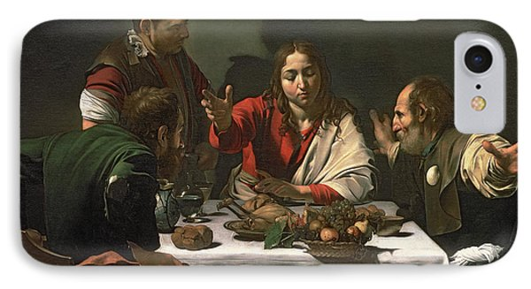 The Supper At Emmaus IPhone Case by Caravaggio