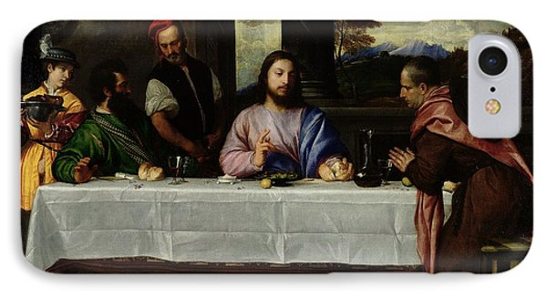 The Supper At Emmaus IPhone Case by Titian