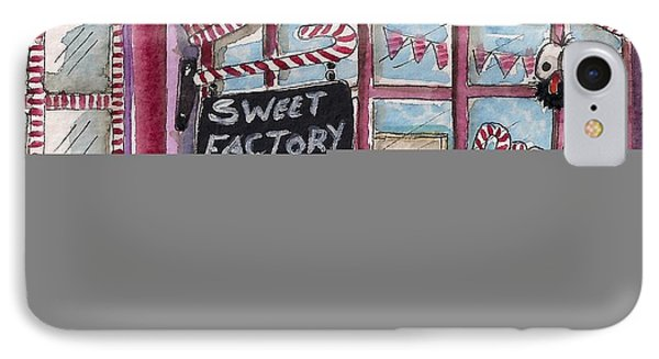 The Sweet Factory IPhone Case by Lucia Stewart