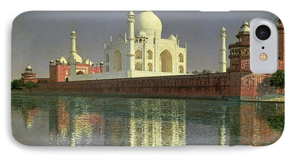 The Taj Mahal IPhone Case by Vasili Vasilievich Vereshchagin
