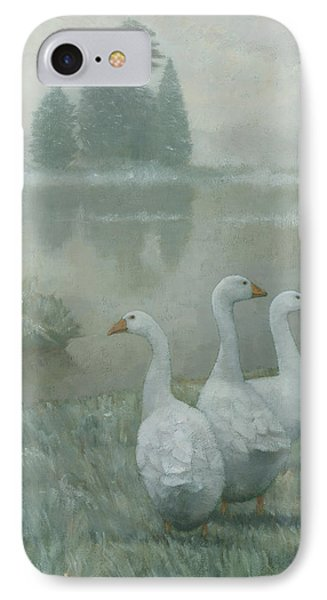 The Three Geese IPhone Case by Steve Mitchell