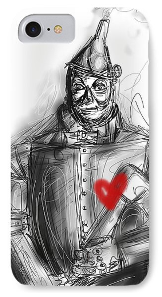 The Tin Man IPhone Case by Russell Pierce