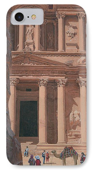 The Treasury Petra IPhone Case by Richard Harpum