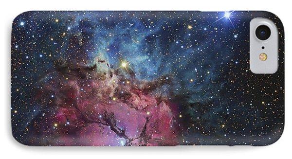 The Trifid Nebula IPhone Case by R Jay GaBany