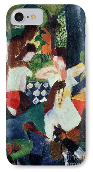 The Turkish Jeweller  Phone Case by August Macke