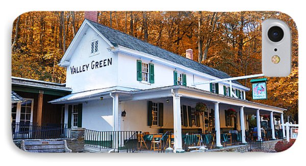 The Valley Green Inn In Autumn IPhone 7 Case by Bill Cannon