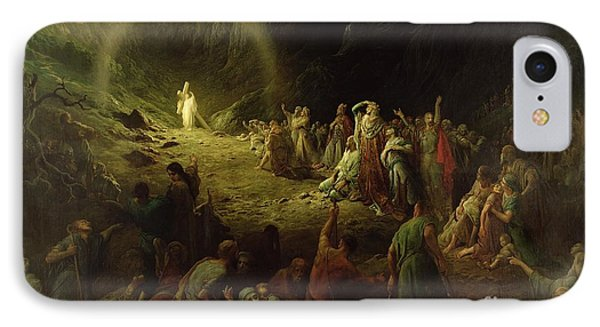 The Valley Of Tears IPhone Case by Gustave Dore