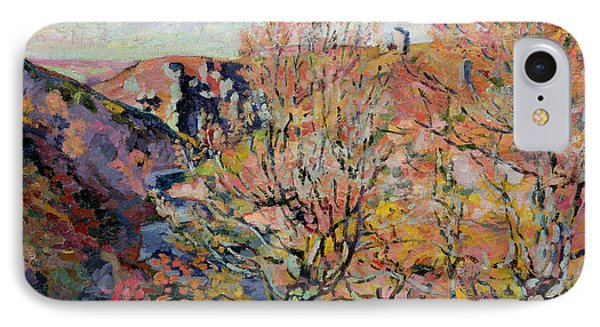 The Valley Of The Sedelle In Crozant Phone Case by Jean Baptiste Armand Guillaumin