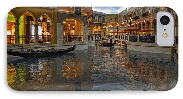 The Venetian Las Vegas Gondolas IPhone Case by Susan Candelario