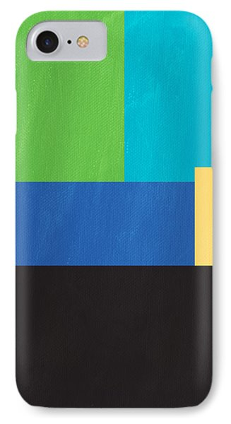 The View From Here- Modern Abstract IPhone Case by Linda Woods