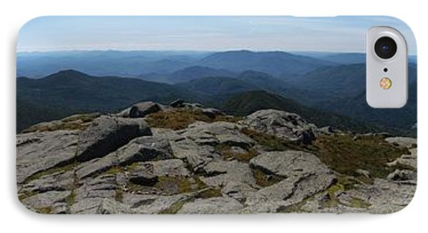 The View North From Mt. Marcy Phone Case by Joshua House