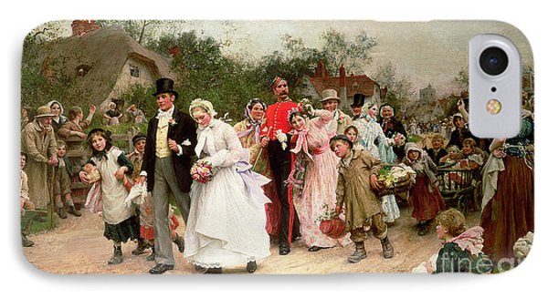 The Village Wedding IPhone Case by Sir Samuel Luke Fildes