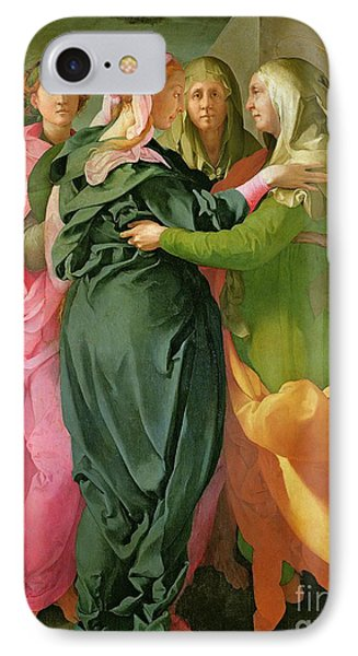 The Visitation IPhone Case by Jacopo Pontormo