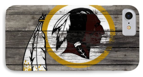 The Washington Redskins 3e IPhone Case by Brian Reaves