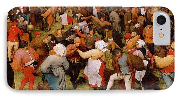 The Wedding Dance IPhone Case by Pieter the Elder Bruegel
