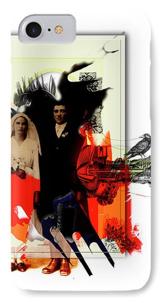 The Wedding Picture Phone Case by Aniko Hencz