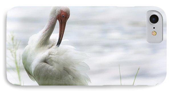 The White Ibis  IPhone 7 Case by Saija  Lehtonen