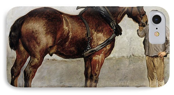 The Work Horse IPhone Case by Otto Bache