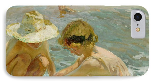 The Wounded Foot IPhone 7 Case by Joaquin Sorolla y Bastida