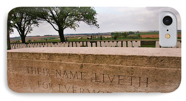 IPhone Case featuring the photograph Their Name Liveth For Evermore by Travel Pics