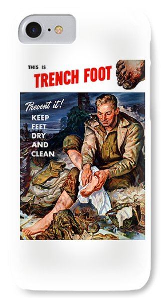 This Is Trench Foot - Prevent It IPhone Case by War Is Hell Store