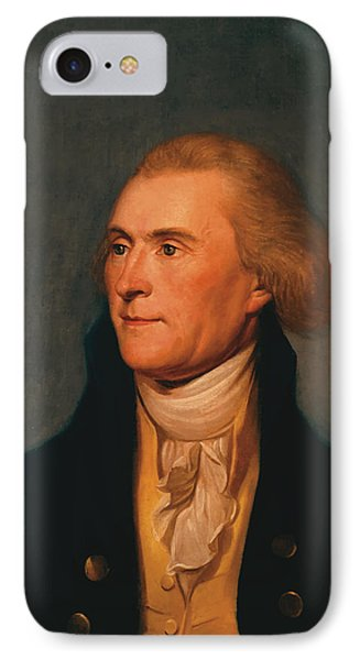 Thomas Jefferson IPhone 7 Case by War Is Hell Store