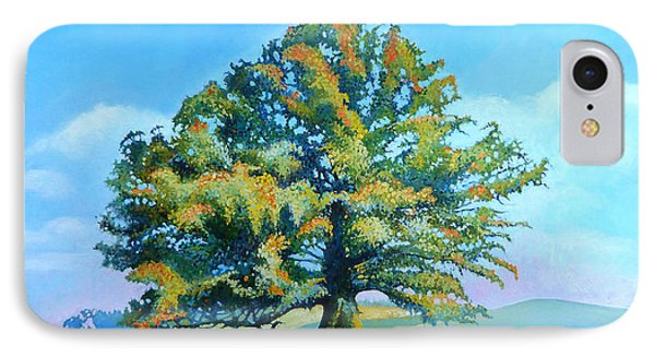 Thomas Jefferson's White Oak Tree On The Way To James Madison's For Afternoon Tea IPhone Case by Catherine Twomey