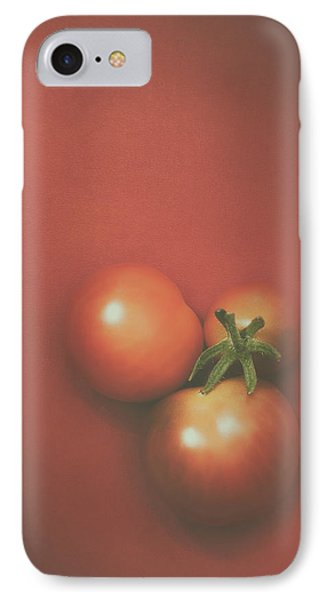 Three Cherry Tomatoes IPhone Case by Scott Norris