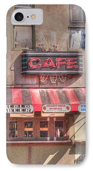 Three Forks Cafe Phone Case by David Bearden