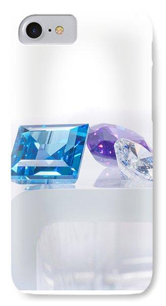 Three Jewel IPhone Case by Atiketta Sangasaeng