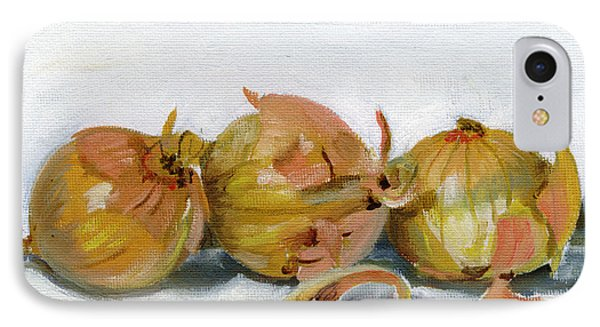 Three Onions IPhone Case by Sarah Lynch