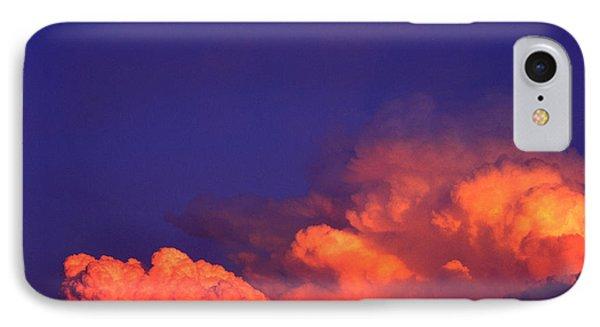 Thunderhead At Sunset Phone Case by Thomas R Fletcher