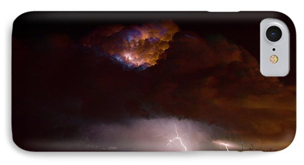 Thunderstorm Boulder County 08-15-10 IPhone Case by James BO  Insogna