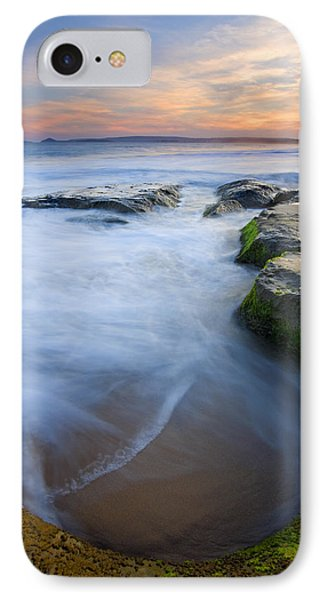 Tidal Bowl IPhone Case by Mike  Dawson