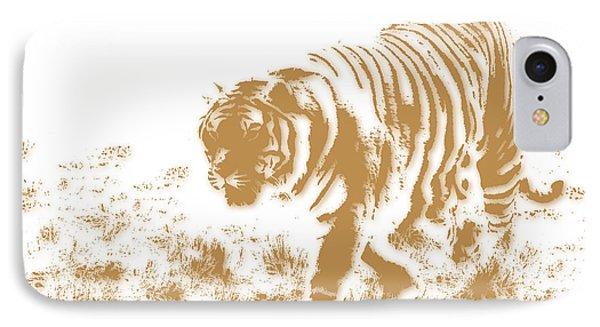 Tiger 2 IPhone Case by Joe Hamilton