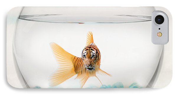 Tiger Fish IPhone 7 Case by Juli Scalzi