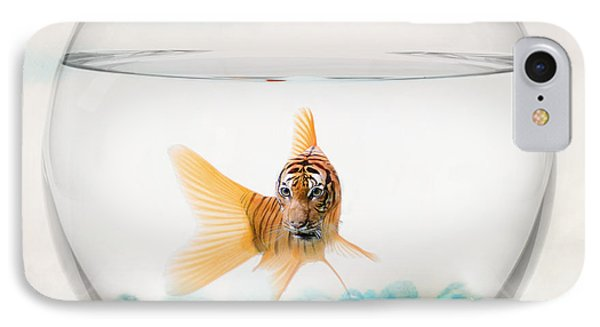 Tiger Fish IPhone Case by Juli Scalzi
