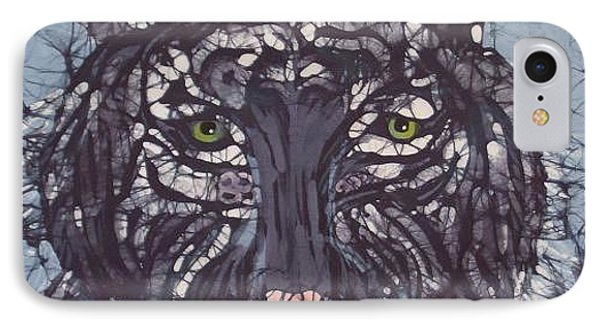 Tiger Phone Case by Kay Shaffer