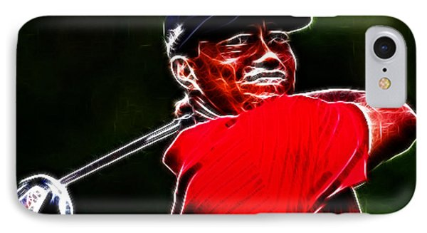 Tiger Woods Phone Case by Paul Ward