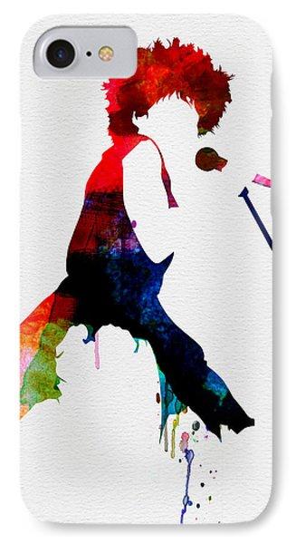 Tina Watercolor IPhone Case by Naxart Studio