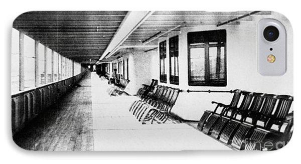 Titanic: Promenade Deck Phone Case by Granger