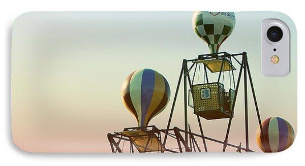 Tivoli Balloon Ride IPhone Case by Linda Woods