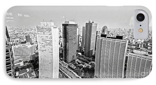 Tokyo Skyline IPhone 7 Case by Pravine Chester