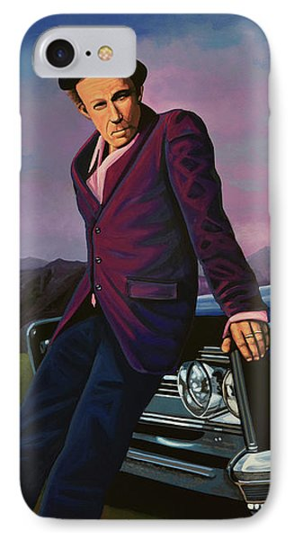 Tom Waits IPhone Case by Paul Meijering