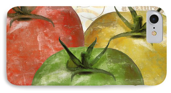 Tomatoes Tomates IPhone Case by Mindy Sommers