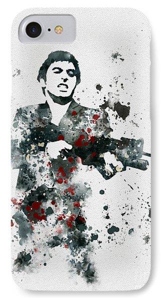 Tony Montana IPhone Case by Rebecca Jenkins