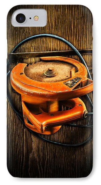 Tools On Wood 32 IPhone Case by YoPedro