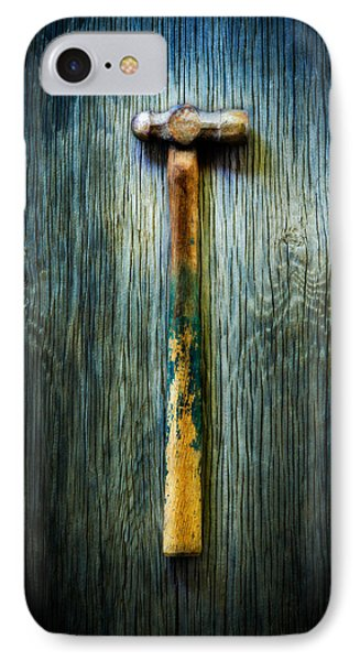 Tools On Wood 38 IPhone Case by YoPedro