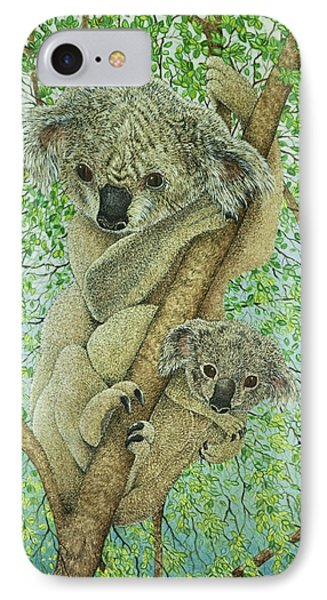 Top Of The Tree IPhone Case by Pat Scott